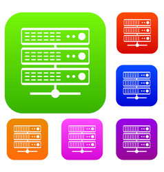 Servers set collection vector