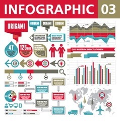 Infographic Elements 03 vector image vector image