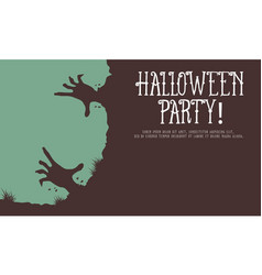 halloween style greeting card collection vector image vector image