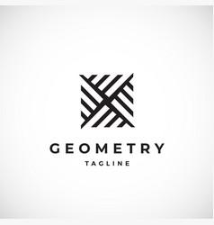 abstract geometric minimal sign symbol vector image
