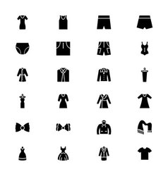 Clothes Icons 3 vector