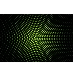Green glowing techno background vector