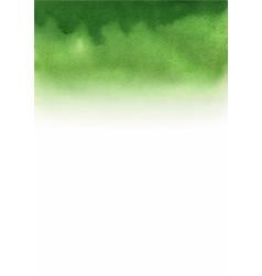 greenery gradient background watercolor vector image