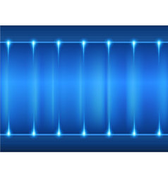 Blue gradient glowing background vector image