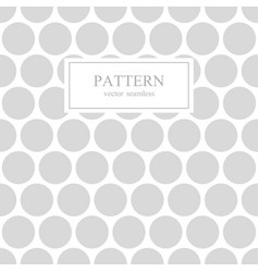 white and gray dotted seamless geometric pattern vector image