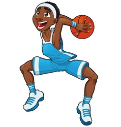 Basketball boy vector