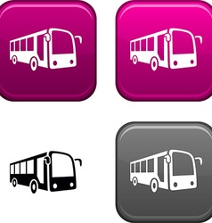 Bus button vector