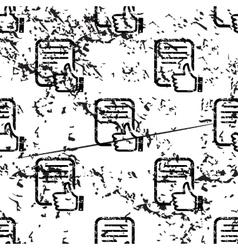 Good document pattern grunge monochrome vector