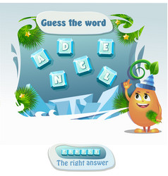 Guess the word candle vector