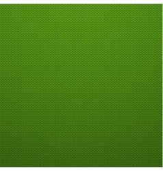 Knitted Style Green Seamless Pattern EPS10 vector image