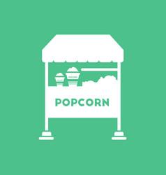 Popcorn shop vector