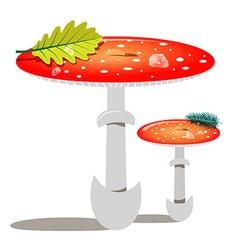 Red Mushroom - Amanita vector