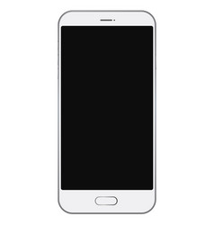 smartphone with black screen vector image