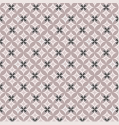 geometric contour pattern on pink background vector image vector image