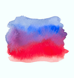 blue and red color watercolor gradient banner vector image