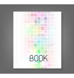 Abstract Technology book vector image vector image