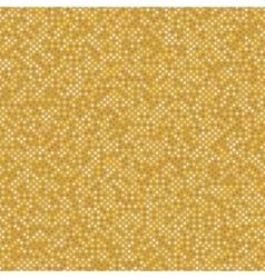 Gold seamless pattern Golden dots vector