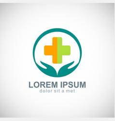 Health care medical logo vector