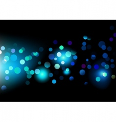 lights dots vector image