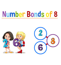 Number bond of six vector