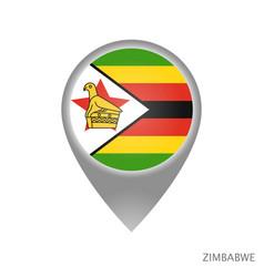 zimbabwe point vector image