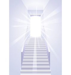 Ascension on a ladder vector