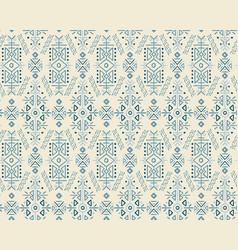 Christmas ethnic style seamless pattern vector