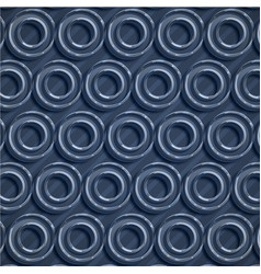 colorful blue circle abstract background vector image