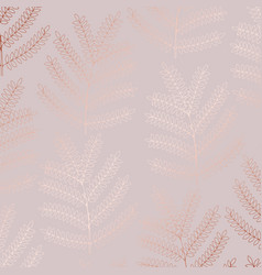 decorative background with imitation of rose gold vector image