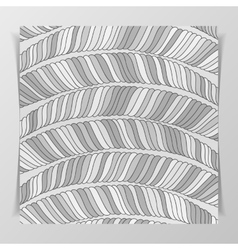 Striped Monochrome Pattern vector image