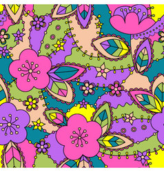 apple-flowers-colorful-2-Converted vector image vector image