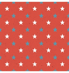 stars seamless background vector image vector image