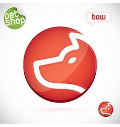 Pet Shop Symbol vector image vector image