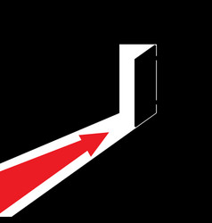 arrow showing the direction vector image