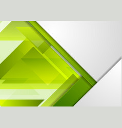 bright green tech corporate material background vector image
