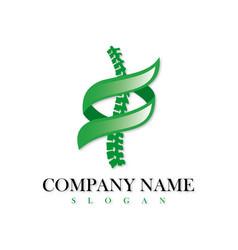 Chiropractic logo vector