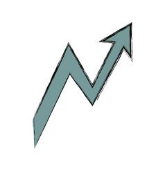 graphic arrow icon vector image