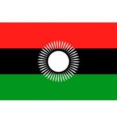 malawian flag vector image