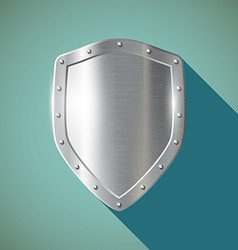 Metal shield Stock vector