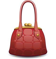 hand bag vector image