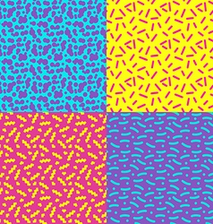 seamless background 80s1 vector image vector image