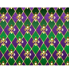 Jewelry Background Mardi Gras vector image vector image