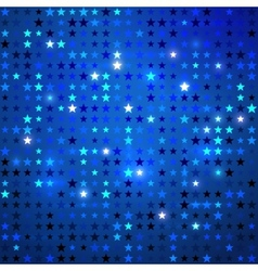 Disco background with stars vector