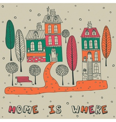 Home Sweet Home Background vector