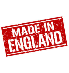 made in england stamp vector image