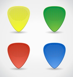 Plectrum vector image