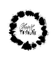 splash stains texture banner black and white vector image