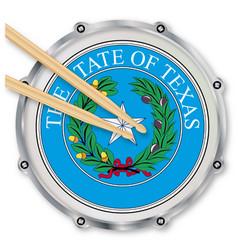 Texas snare drum vector