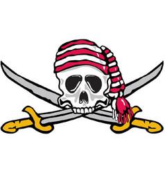 Buccaneer sports logo mascot vector