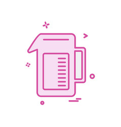drink icon design vector image